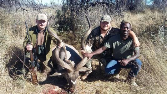 Największe kudu strzelone na farmie Kambaku