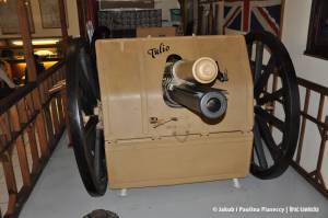 Brytyjskie działo TULIO powstałe w 1913 roku