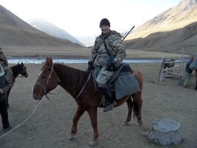 Polowanie w Kirgistanie