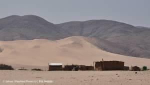 Gdzie pustynia wchodzi w góry