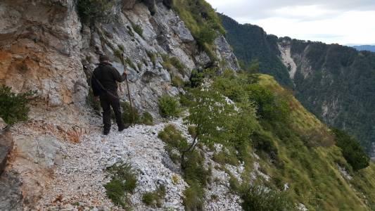 Jeden z nielicznych szlaków znajdujących się w obwodzie