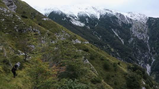 Myśliwi w górach