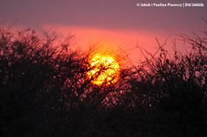 Wschód słońca nad Kambaku